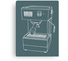 Espresso Machine  Canvas Print
