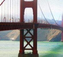 Golden Gate of San Francisco Sticker