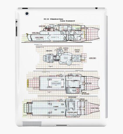 Firefly Ships of the Verse Kingston Class iPad Case/Skin