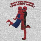 Have you hugged your Spidey today? by Kallian