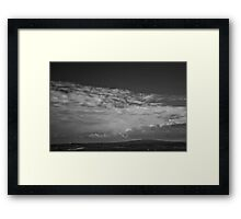 Ireland in Mono: From A Mile Away Framed Print