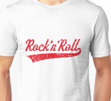 Rock 'n' Roll Vintage (Red) Unisex T-Shirt