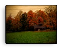 Abandoned Shack in the Woods ~ Vintage Photography Canvas Print