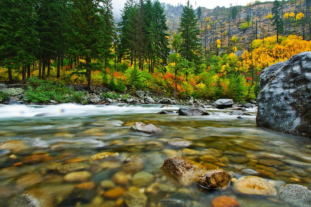 Wenatchee River by Dan Mihai