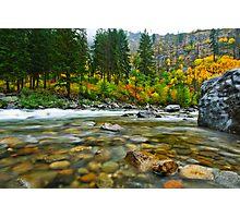 Wenatchee River Photographic Print