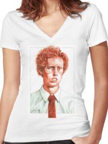 Napoleon Dynamite Women's Fitted V-Neck T-Shirt
