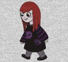 Skull girl Kids Tee