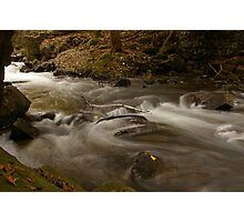 Silky water Photographic Print
