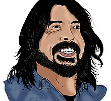 Dave Grohl - Foo Fighters - Legend - Nirvana by Matty723