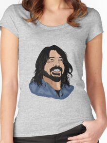 Dave Grohl - Foo Fighters - Legend - Nirvana Women's Fitted Scoop T-Shirt
