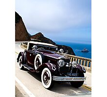 1925 Hispan-Suiza H6B Kellner Cabriolet Photographic Print
