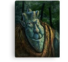 Forest Dude Canvas Print