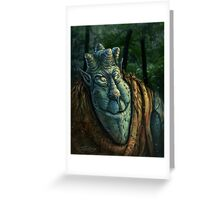 Forest Dude Greeting Card