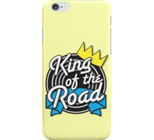 KING of the ROAD with crown iPhone Case/Skin