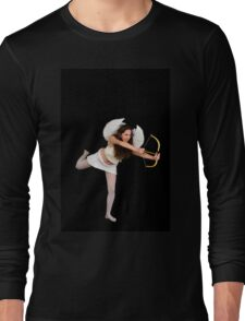 Cupid (Greek Eros) the god of desire Long Sleeve T-Shirt
