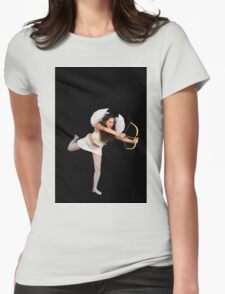 Cupid (Greek Eros) the god of desire Womens Fitted T-Shirt