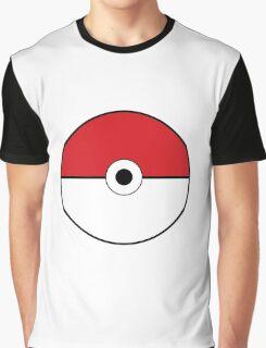 Pokemon pokeball design tshirt Graphic T-Shirt