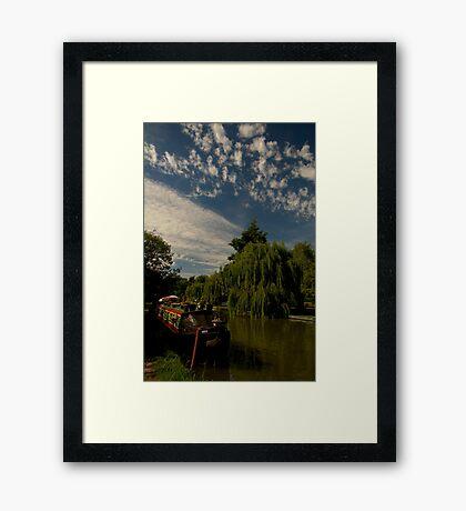 Narrow Boat at Berkhamstead Framed Print