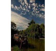 Narrow Boat at Berkhamstead Photographic Print