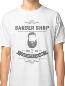 Vintage Barber Shop Classic T-Shirt