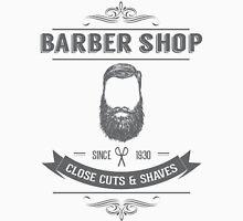 Vintage Barber Shop Unisex T-Shirt