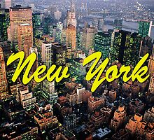 STUNNING! NEW YORK CITY RETRO 1970's by Picturestation