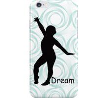 Gymnastics Silhouette iPhone Case/Skin