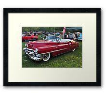 An Old Cadillac Framed Print
