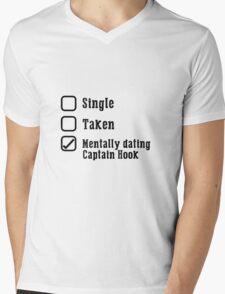 Mentally Dating Captain Hook Mens V-Neck T-Shirt