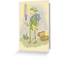 You find Sword? Greeting Card