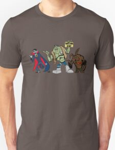 Beware of Hitchhiking Monsters Unisex T-Shirt