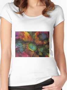 Abstract 1061 Women's Fitted Scoop T-Shirt