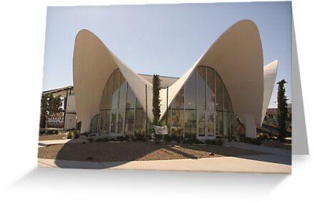 Restored La Concha Motel Building, Las Vegas by FrankieTease