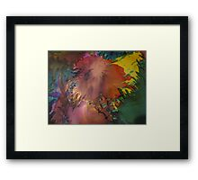 Abstract 1070 Framed Print