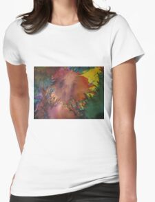 Abstract 1070 Womens Fitted T-Shirt