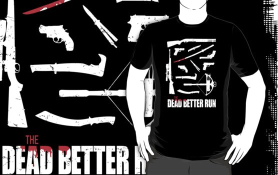 The Dead Better Run by RobGo
