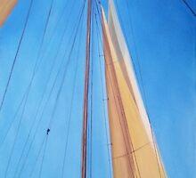 Mast Of The Hindu by Ken Pratt
