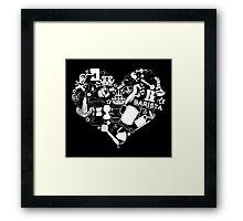 Barista Love Framed Print
