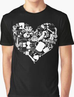 Barista Love Graphic T-Shirt