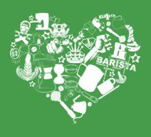 Barista Love Kids Tee
