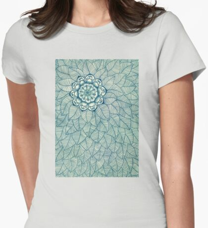 Center of Attention II Womens Fitted T-Shirt