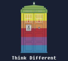 Think Tardis Different. by who-am-i