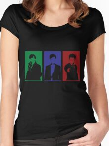 Sherlock, Doctor, Potter Women's Fitted Scoop T-Shirt