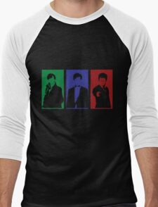 Sherlock, Doctor, Potter Men's Baseball ¾ T-Shirt