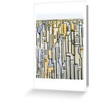 Urban Hue Greeting Card