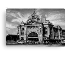 Flinders Street Station, Melbourne #2 Canvas Print