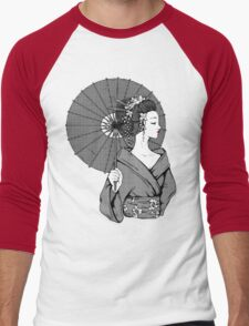 Vecta Geisha Men's Baseball ¾ T-Shirt