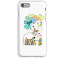 little rainbow elephant iPhone and iPod case iPhone Case/Skin
