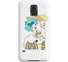 little rainbow elephant iPhone and iPod case Samsung Galaxy Case/Skin