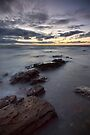 Black Gives Way to Blue - Mornington, Victoria, Australia by Sean Farrow